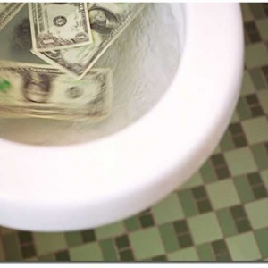 The U.S. Economy Is Headed Into The Toilet