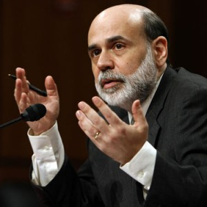 In fact Bernanke told