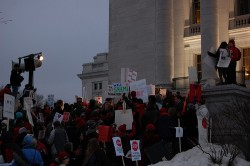 Wisconsin Teacher Protest by CindyH Photography
