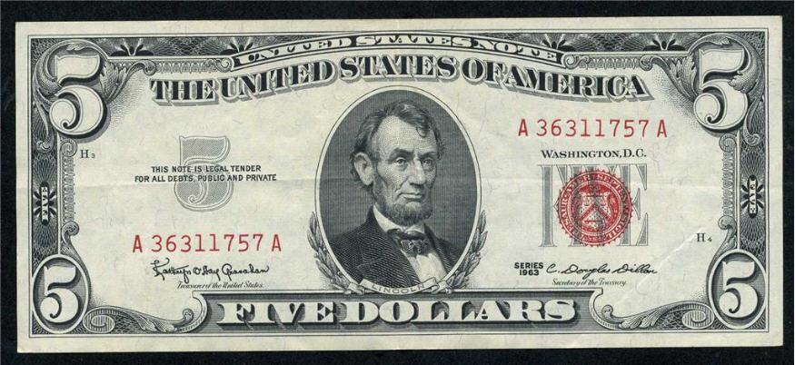 Debt Free United States Notes Were Once Issued Under JFK United States Note JFK 1963