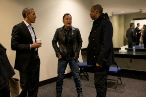 Barack Obama, Bruce Springsteen and Jay-Z
