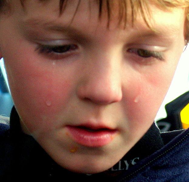Sad Child – Photo by David Shankbone