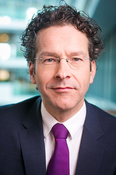 Dutch Finance Minister Jeroen Dijsselbloem is the president of the Eurogroup