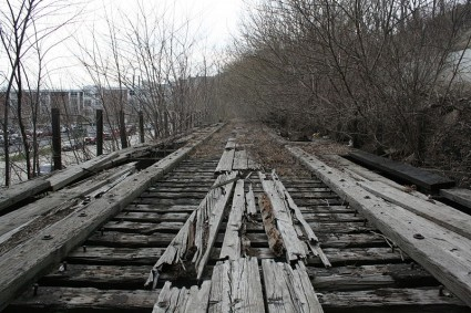 Railroad In Milwaukee