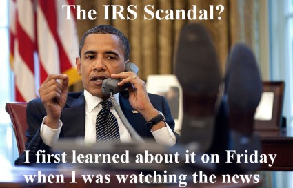 Is President Obama directly implicated in the IRS scandal