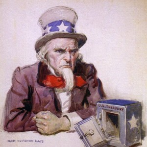 Image result for pictures of uncle sam IOU