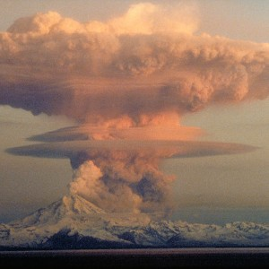 Volcano Eruption - Mount Redoubt