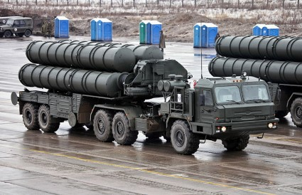 S-400 Anti-Aircraft Missile Launchers - Photo by Vitaly V. Kuzmin