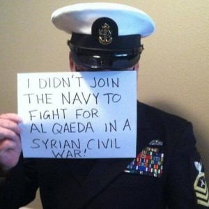U.S. Naval Officer Does Not Want to Fight For Al-Qaeda In Syria