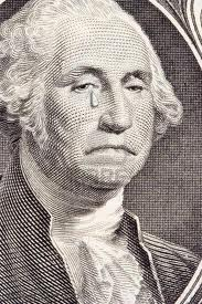 George Washington Crying