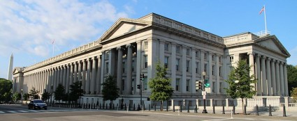 United States Treasury Building - Photo by Rchuon24