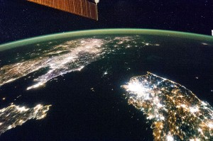 North Korea At Night