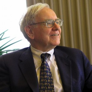 Warren Buffett - Photo by Mark Hirschey