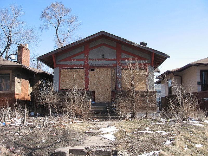 Abandoned House In Ambridge Pennsylvania Public Domain