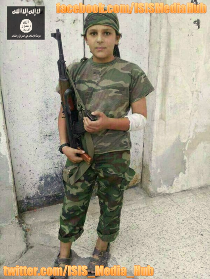 13 Year Old Jihadist - ISIS Media Hub