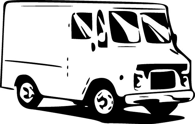 Food Truck Public Domain