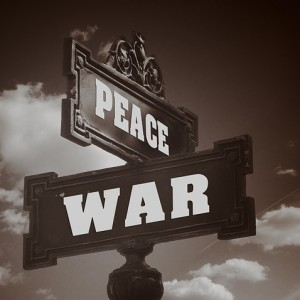 War Peace Sign - Public Domain
