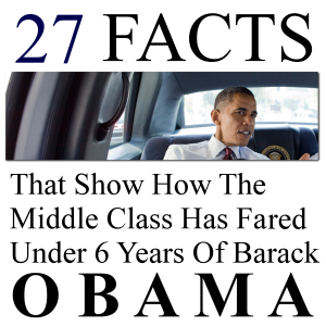 27 Facts That Show How The Middle Class Has Fared Under Barack Obama