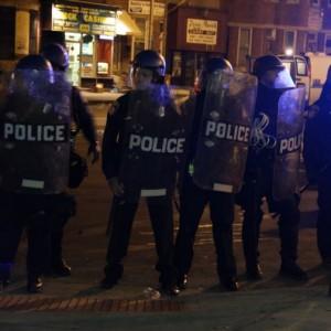 Baltimore Riot Police - Public Domain
