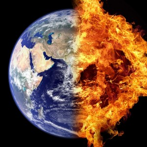 World On Fire - Public Domain