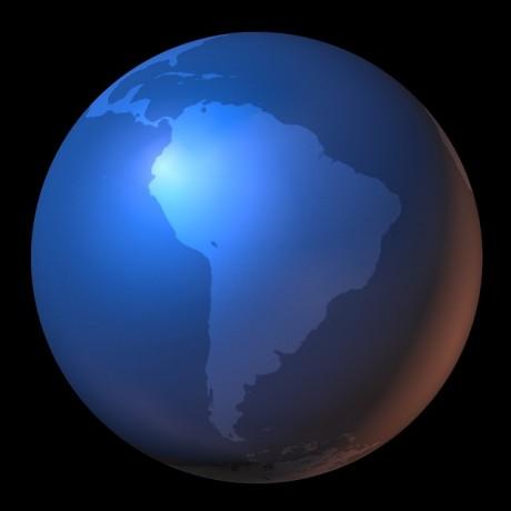 South America - Public Domain