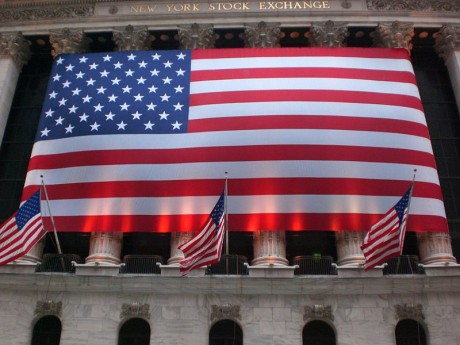 New York Stock Exchange - Photo from Wikimedia Commons