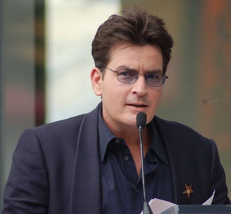 Charlie Sheen - Photo by Angela George on Flickr