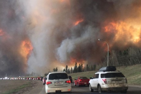 Fort McMurray Fire - Photo by DarrenRD