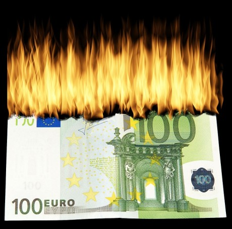 Money Burning - Public Domain