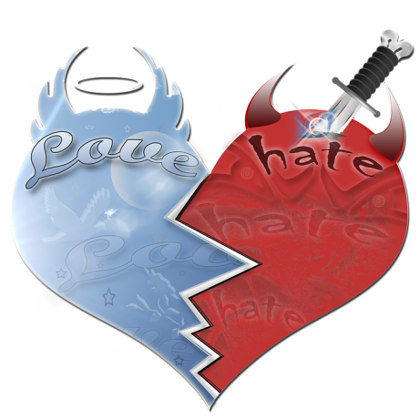 Love Hate - Public Domain