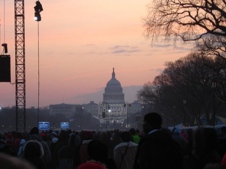 Inauguration Day Dawn - Photo by Bgwwlm