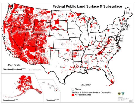 The Federal Government Owns 61 Percent Of Idaho, 64 Percent Of Utah And 84 Percent Of Nevada