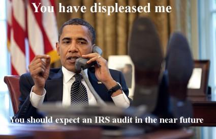 Obama IRS Audit