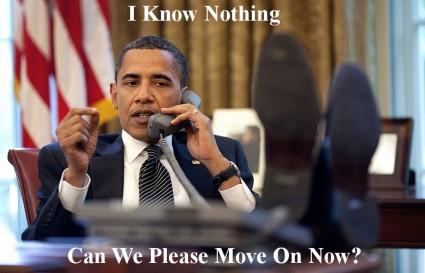 Obama I Know Nothing