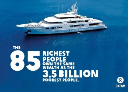 85 Richest People - Photo by Oxfam