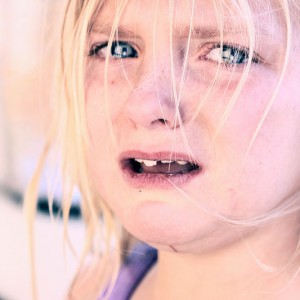 Crying Girl - Photo by D Sharon Pruitt