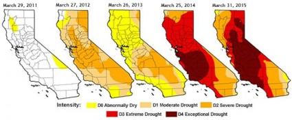 California National Drought Monitor