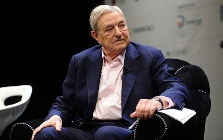 George Soros - Photo by Niccolo Caranti